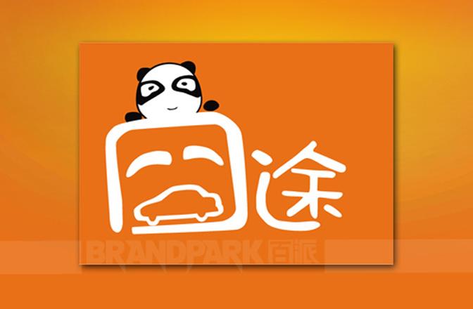 """""""囧途""""汽车用品形象标志设计整体沿用l囧r字结构造型的变化,高清图片"""